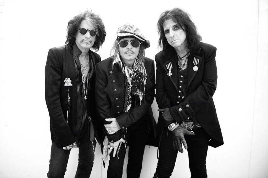 Hollywood Vampires (Foto: © Ross Halfin)