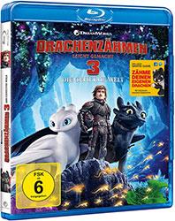 """""""Drachenzähmen leicht gemacht 3: Die geheime Welt"""" Blu-ray Cover (© 2019 DreamWorks Animation LLC. All Rights Reserved.)"""