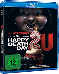 """Happy Deathday 2U"" Blu-ray Cover (© Universal Pictures)"