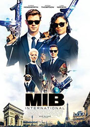 """Men in Black: International"" Filmplakat (© 2019 Sony Pictures Entertainment Deutschland GmbH)"