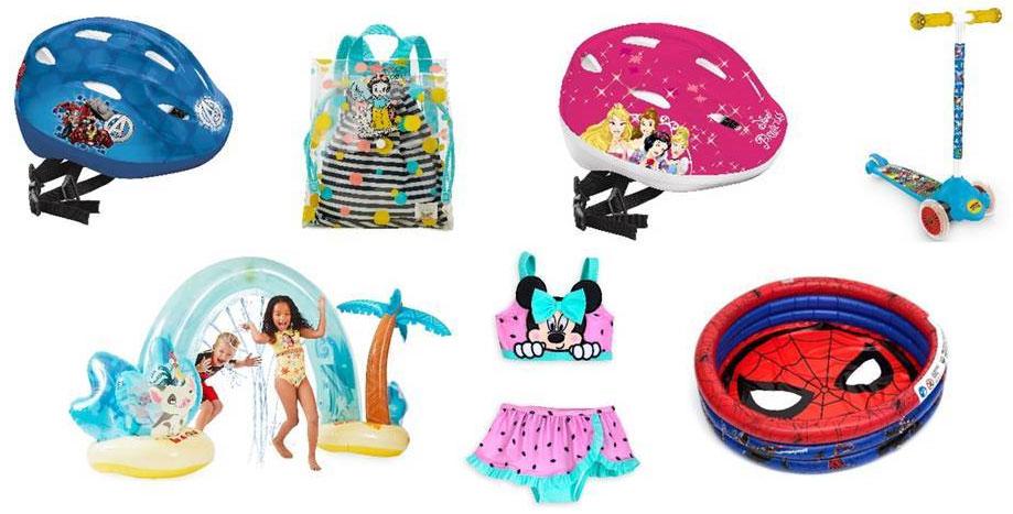 Sommerartikel im shopDisney (© Disney)