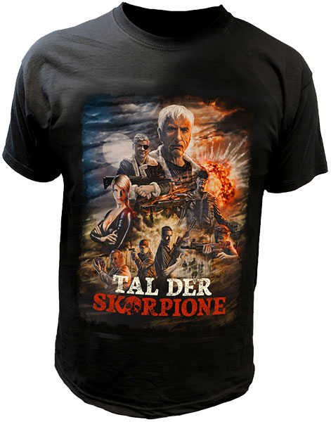 """Tal der Skorpione"" T-Shirt"