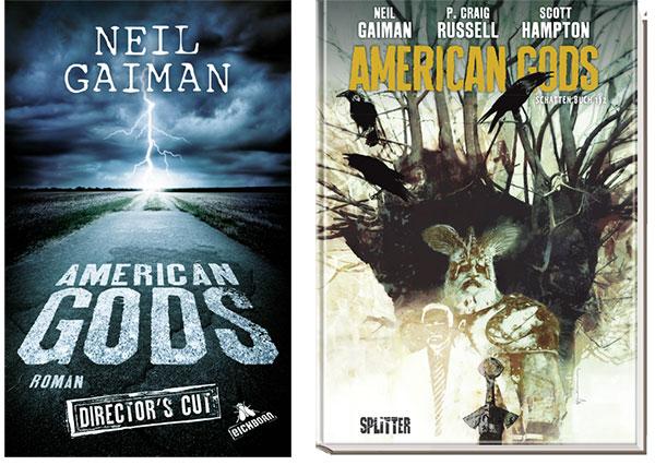 """American Gods"" Fanpaket"