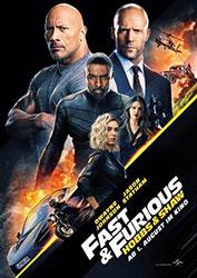 """Fast & Furious: Hobbs & Shaw"" Filmplakat (© Universal Studios)"