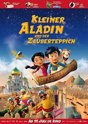 """""""Kleiner Aladin und der Zauberteppich"""" Filmplakat"""