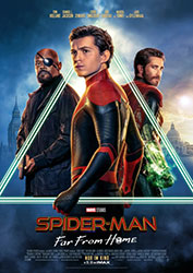 """Spider-Man: Far From Home"" Filmplakat (© 2019 Sony Pictures Entertainment Deutschland GmbH)"