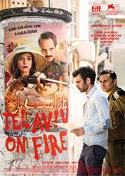"""""""Tel Aviv on Fire"""" Filmplakat"""
