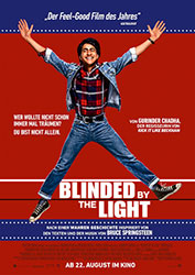 """Blinded by the Light"" Filmplakat (© 2019 Warner Bros. Entertainment Inc.)"
