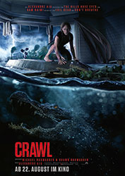 """Crawl"" Filmplakat (© 2019 Paramount Pictures Corporation)"