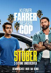 """""""Stuber – 5 Sterne Undercover"""" Filmplakat (© 2019 Twentieth Century Fox)"""