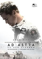 """""""Ad Astra - Zu den Sternen"""" Filmplakat (© 2019 Twentieth Century Fox)"""