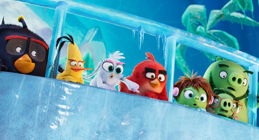 """""""Angry Birds 2 - Der Film"""" Szenenbild (© 2019 Sony Pictures Entertainment Deutschland GmbH / Angry BirdsTM & © 2019 Rovio Entertainment Corporation and Rovio Animation Ltd. The Angry Birds Movie 2 © 2019 CPM. All Rights Reserved.)"""