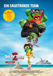 """Angry Birds 2 - Der Film"" Filmplakat (© 2019 Sony Pictures Entertainment Deutschland GmbH)"
