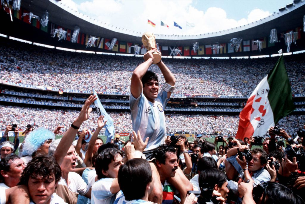 """Diego Maradona"" Szenenbild (© Bob Thomas/Getty Images/DCM)"