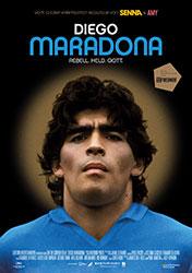 """Diego Maradona"" Filmplakat (© DCM)"