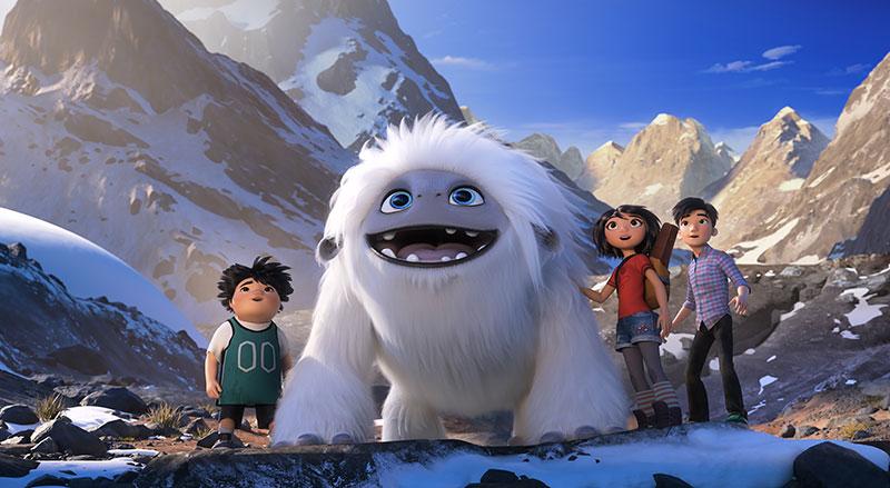 """""""Everest - Ein Yeti will hoch hinaus"""" Szenenbild (© 2019 DreamWorks Animation LLC. All Rights Reserved.)"""