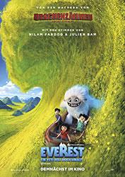 """Everest - Ein Yeti will hoch hinaus"" Filmplakat (© 2019 DreamWorks Animation LLC. All Rights Reserved.)"