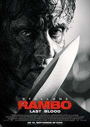 """Rambo: Last Blood"" Filmplakat (© Universum Film)"