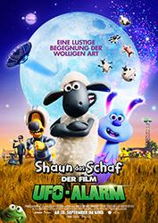 """Shaun Das Schaf - Der Film: Ufo-Alarm"" Filmplakat (© Studiocanal SAS)"