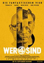 """""""Wer 4 sind"""" Filmplakat"""