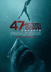 """""""47 Meters Down: Uncaged"""" Filmplakat (© 2019 Concorde Filmverleih GmbH)"""