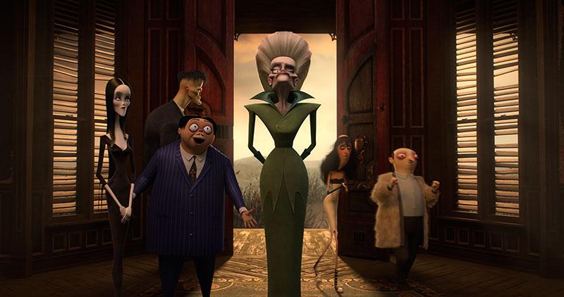 """Die Addams Family"" Szenenbild (© Universal Pictures)"