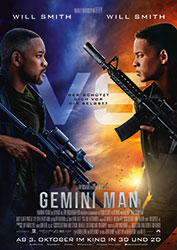 """Gemini Man"" Filmplakat (© 2019 Paramount Pictures Corporation)"