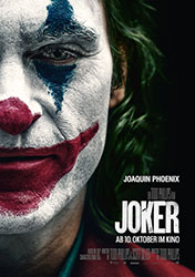 """Joker"" Filmplakat (© 2019 Warner Bros. Entertainment Inc. All Rights Reserved. TM & © DC Comics)"