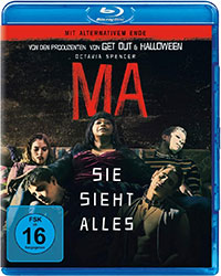 """Ma"" Blu-ray Cover (© Universal Pictures)"