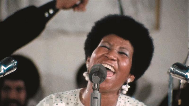 """""""Aretha Franklin: Amazing Grace"""" Szenenbild (© Courtesy of Amazing Grace and Weltkino)"""