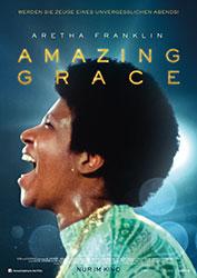 """""""Aretha Franklin: Amazing Grace"""" Filmplakat (© Courtesy of Amazing Grace and Weltkino)"""