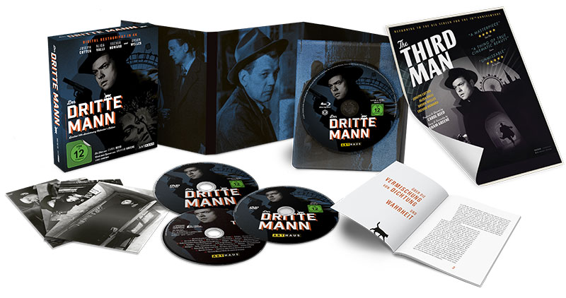 """Der dritte Mann"" Limited 70th Anniversary Collector's Edition (© Studiocanal GmbH)"