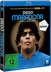"""Diego Maradona"" Blu-ray Cover (© DCM)"