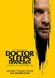 """""""Doctor Sleeps Erwachen"""" Filmplakat (© 2019 Warner Bros. Entertainment Inc.)"""