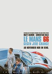 """Le Mans 66 – Gegen jede Chance"" Filmplakat (© 2019 Twentieth Century Fox)"