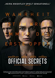 """Official Secrets"" Filmplakat (© 2019 eOne Germany)"