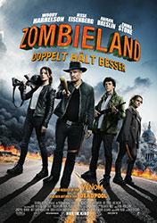 """""""Zombieland 2: Doppelt hält besser"""" Filmplakat (© 2019 Sony Pictures Entertainment Deutschland GmbH)"""