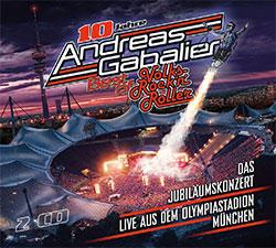 """Andreas Gabalier """"Best of Volks-Rock'n'Roller – Das Jubiläumskonzert live aus dem Olympiastadion in München"""""""
