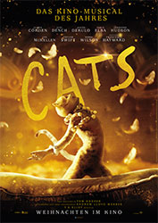 """Cats"" Filmplakat (© 2019 Universal Pictures. All Rights Reserved.)"