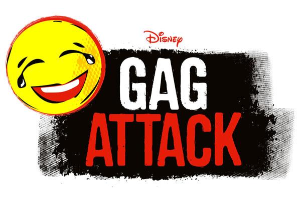 """Gag Attack"" Logo (© Disney)"