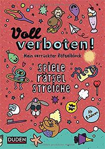 """Voll verboten! Mein verrückter Rätselblock 2"" (Duden Verlag)"