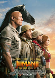 """Jumanji: The Next Level"" Filmplakat (© 2019 Sony Pictures Entertainment Deutschland GmbH)"
