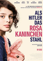 """Als Hitler das rosa Kaninchen stahl"" Filmplakat (© 2019 Warner Bros. Ent.)"