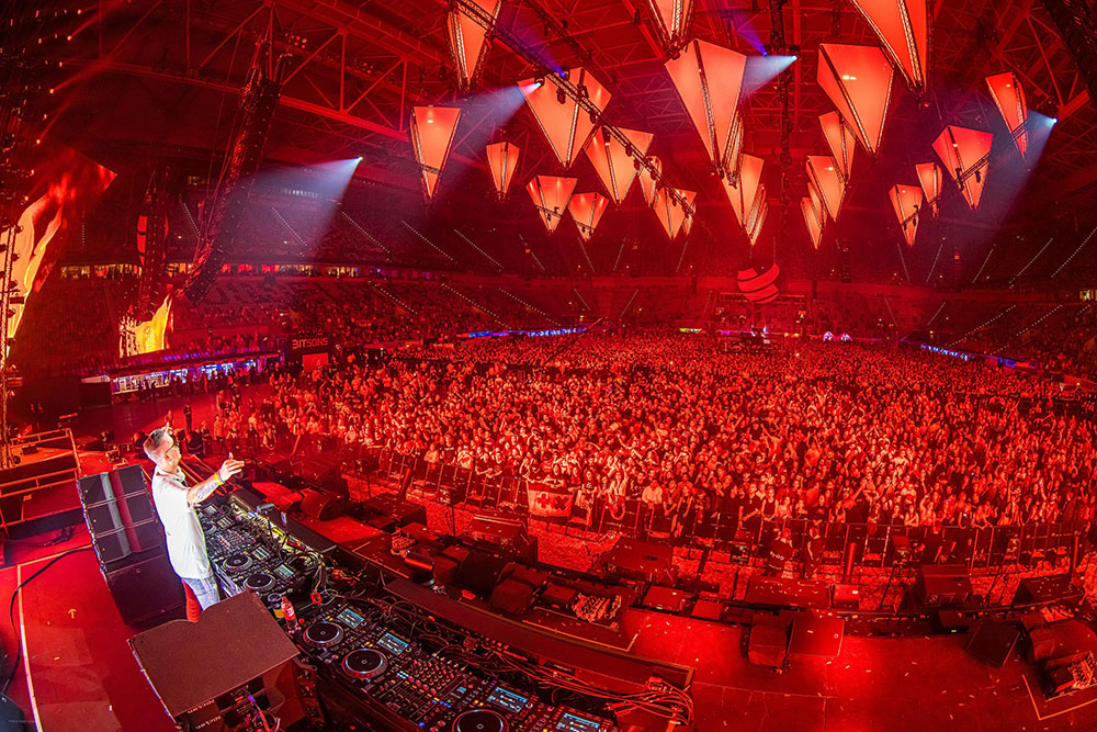 Robin Schulz bei der BigCityBeats WORLD CLUB DOME Winter Edition 2020 (© Ralph Larmann / BigCityBeats WORLD CLUB DOME)