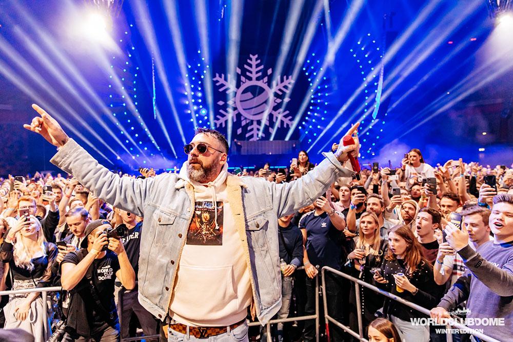 Sido bei der BigCityBeats WORLD CLUB DOME Winter Edition 2020 (© BigCityBeats WORLD CLUB DOME)