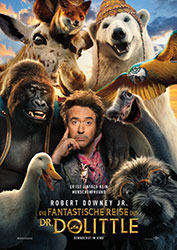 """Die Fantastische Reise des Dr. Dolittle"" Filmplakat (© 2020 UNIVERSAL STUDIOS and PERFECT UNIVERSE INVESTMENT INC. All Rights Reserved.)"