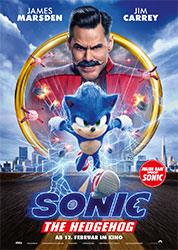 """""""Sonic the Hedgehog"""" Filmplakat (© 2019 Paramount Pictures Corporation)"""