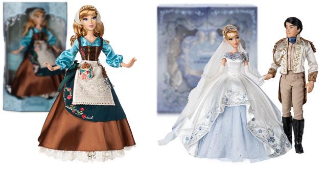 shopDisney Cinderella und Prinz Puppen in limitierter Edition