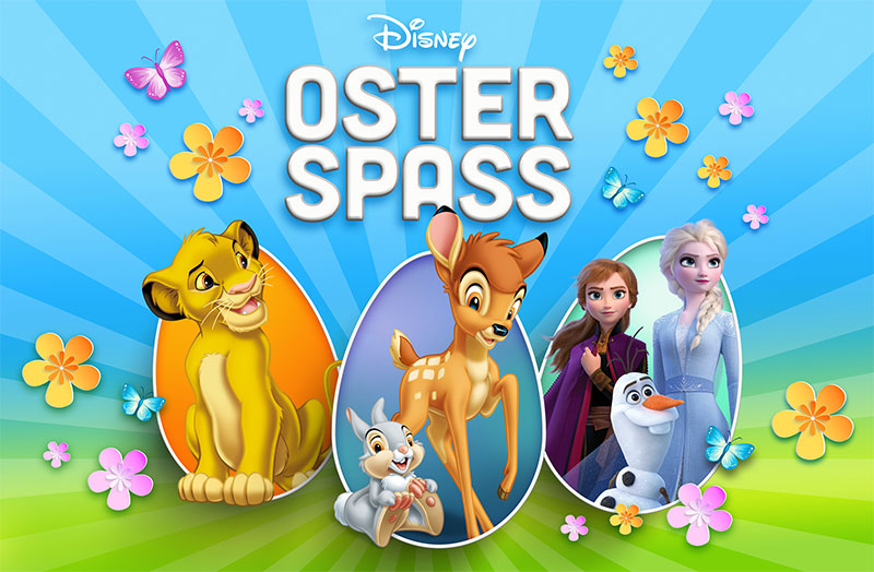 Disney Osterspass (© Disney)