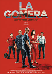 """""""La Gomera - Verpfiffen & Verraten"""" Filmplakat (© Alamode Film)"""